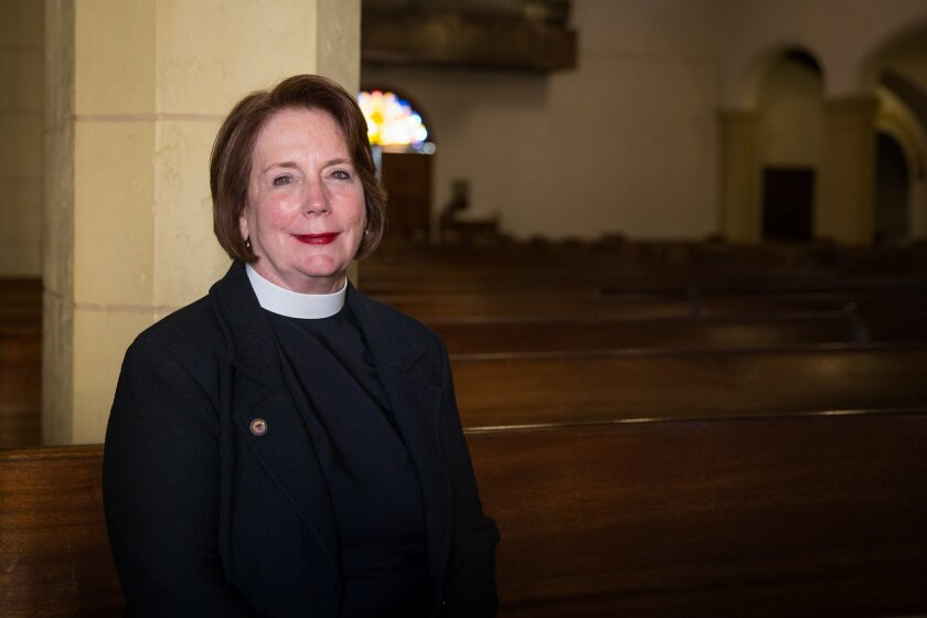 Rev. Eleanor Ellsworth, senior associate rector