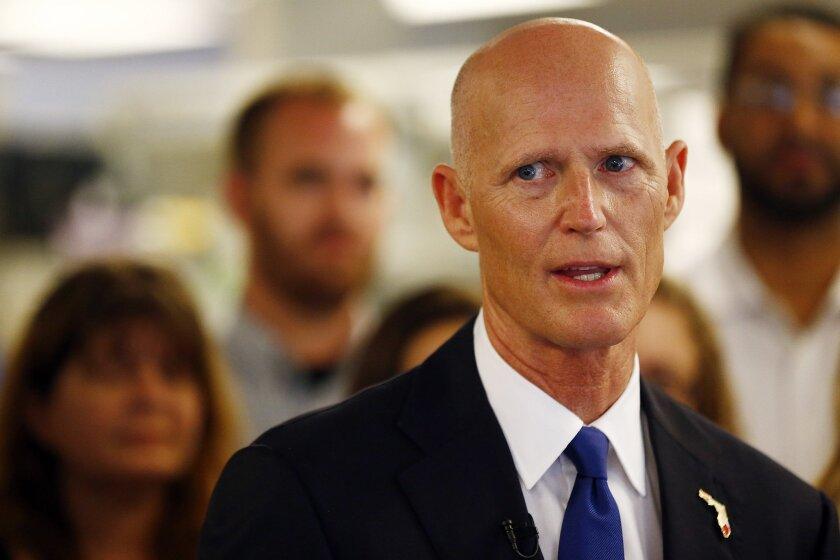Florida Reopublican Gov. Rick Scott: A serious case of Obamacare Derangement Syndrome?