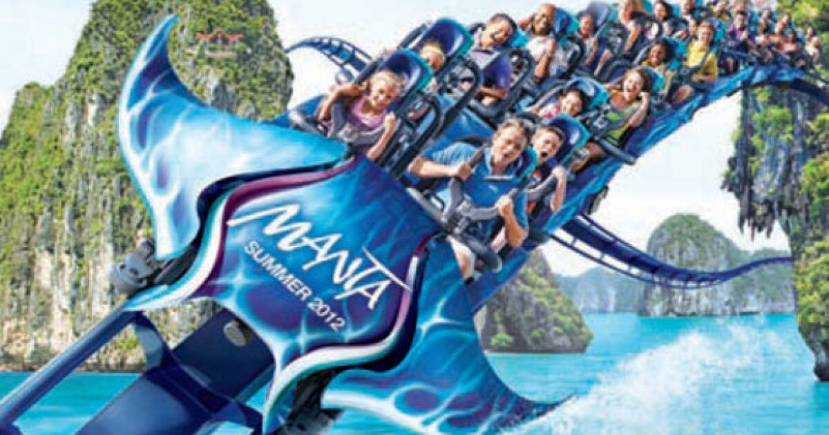 Wing Dipping Manta Coaster Coming To Seaworld San Diego In May Los Angeles Times