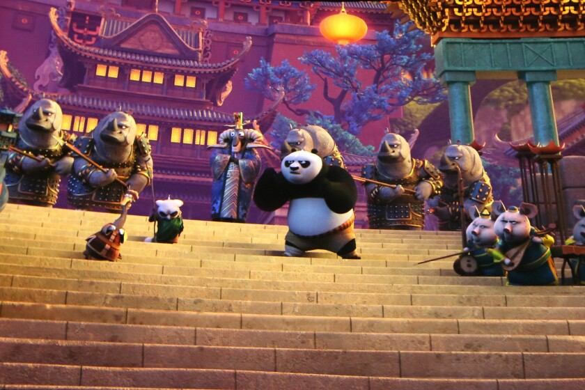 Universal Studios Hollywood celebrates the grand opening of DreamWorks Theatre featuring Kung Fu Panda: the Emperor's Quest.