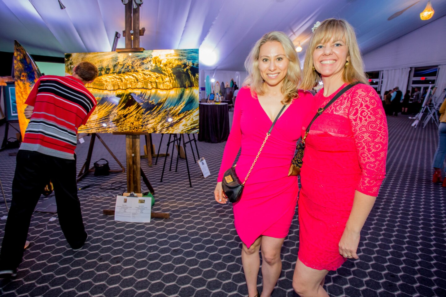 Clean oceans and waterways were top of mind as hundreds turned out for the Surfrider 17th annual Art Gala & Auction on May 12, 2017 at Paradise Point Resort at Mission Bay. (Bradley Schweit)