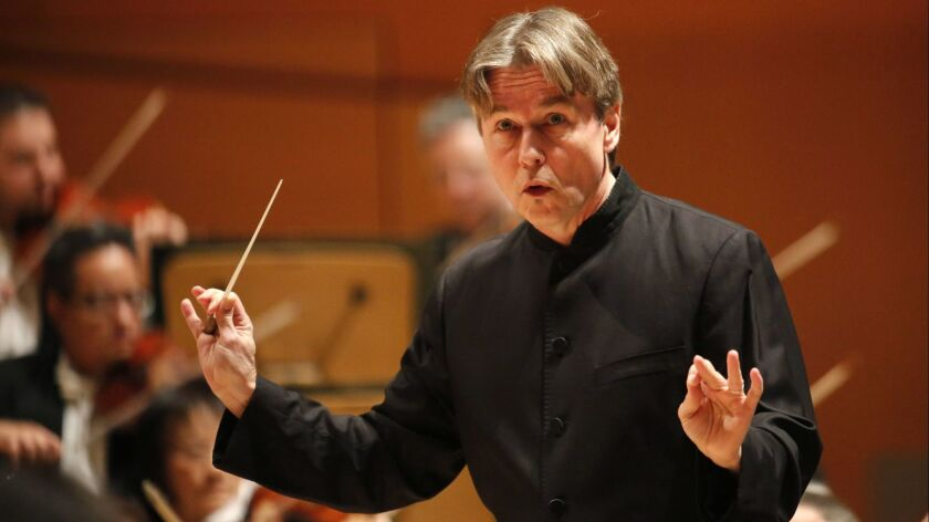 Esa-Pekka Salonen was announced as the new music director of the San Francisco Symphony on Wednesday.