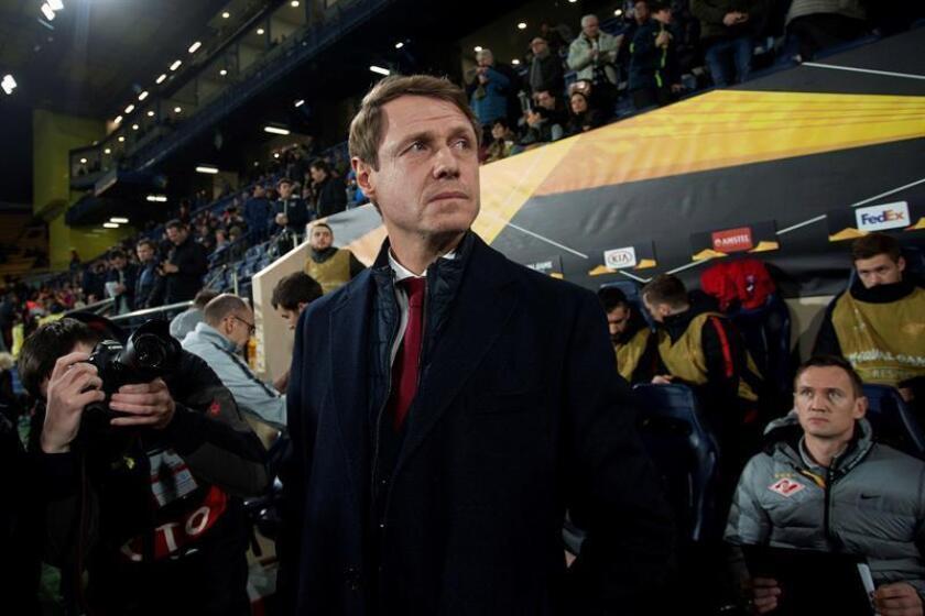 El entrenador del Villarreal, Luis García Plaza. EFE/Archivo