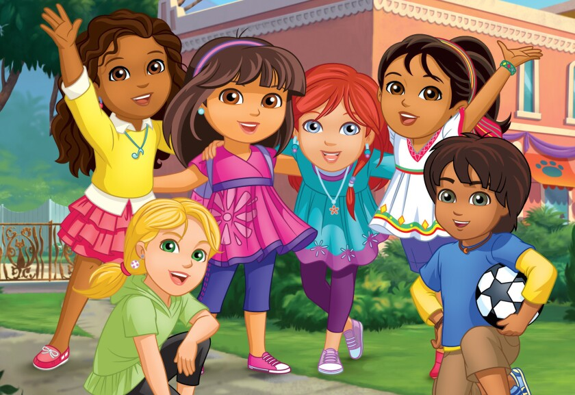 Review Dora And Friends Into The City Review Dora Grows