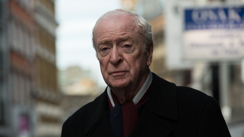 """Michael Caine in the movie """"King of Thieves."""""""