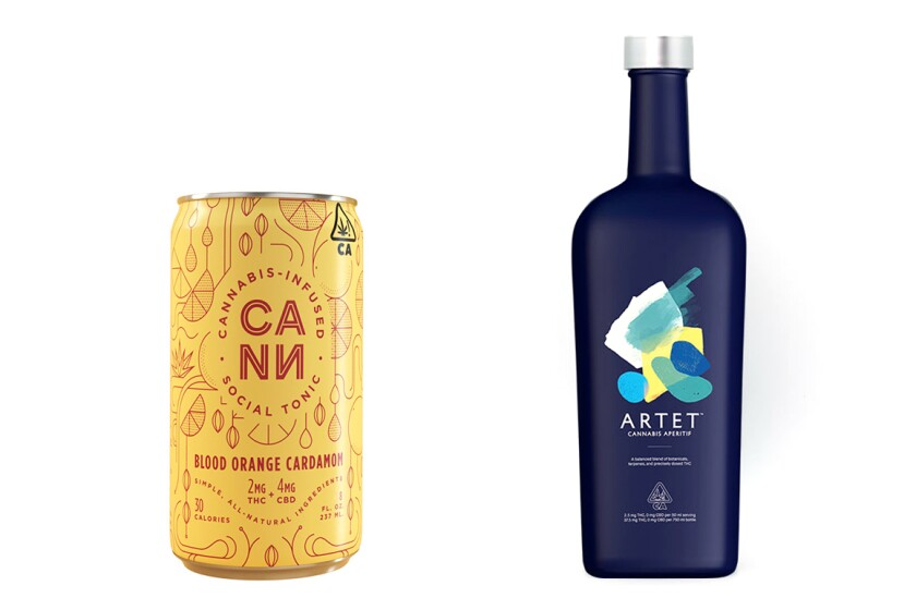 Low-dose cannabis-infused beverages