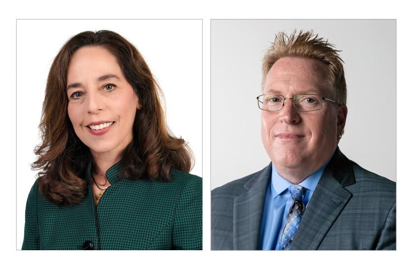 Incumbent Mara Elliott and challenger Cory Briggs are running for San Diego city attorney.