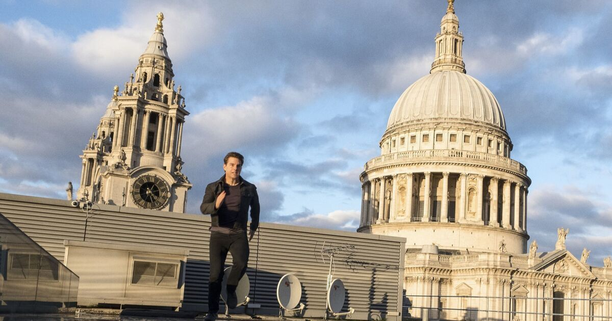 Tom Cruise's outburst of COVID-19 aside, the UK is still the center for filming