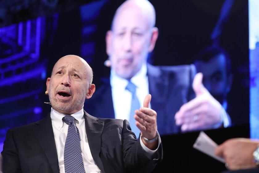El consejero delegado de Goldman Sachs, Lloyd Blankfein. EFE/Archivo