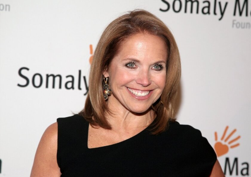 """Ratings have been soft for Katie Couric's show, """"Katie,"""" which launched in September 2012."""