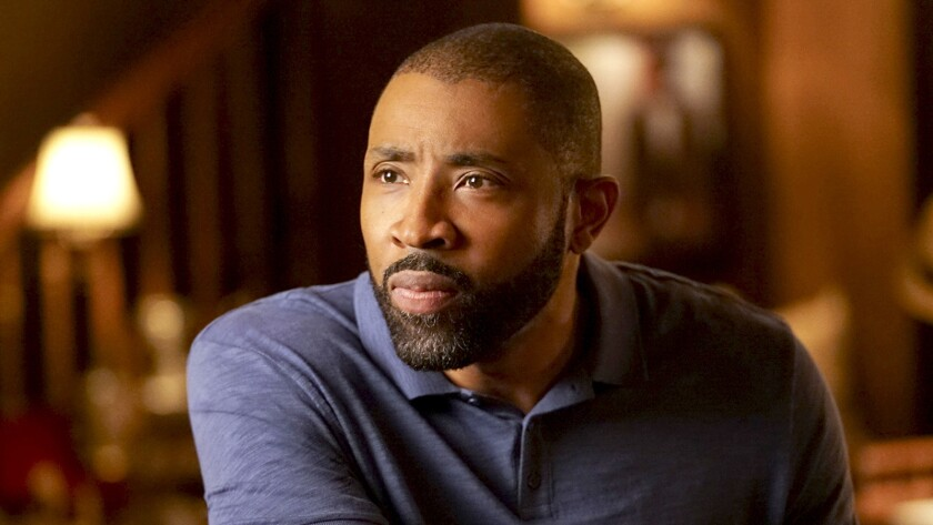 "Cress Williams in ""Black Lightning"" on The CW."