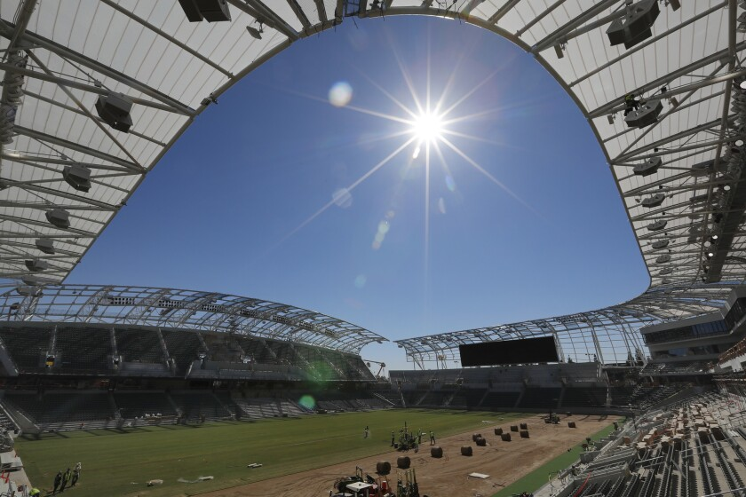 Banc of California Stadium.