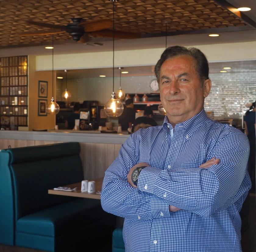Broken Yolk owner John Gelastopoulos.