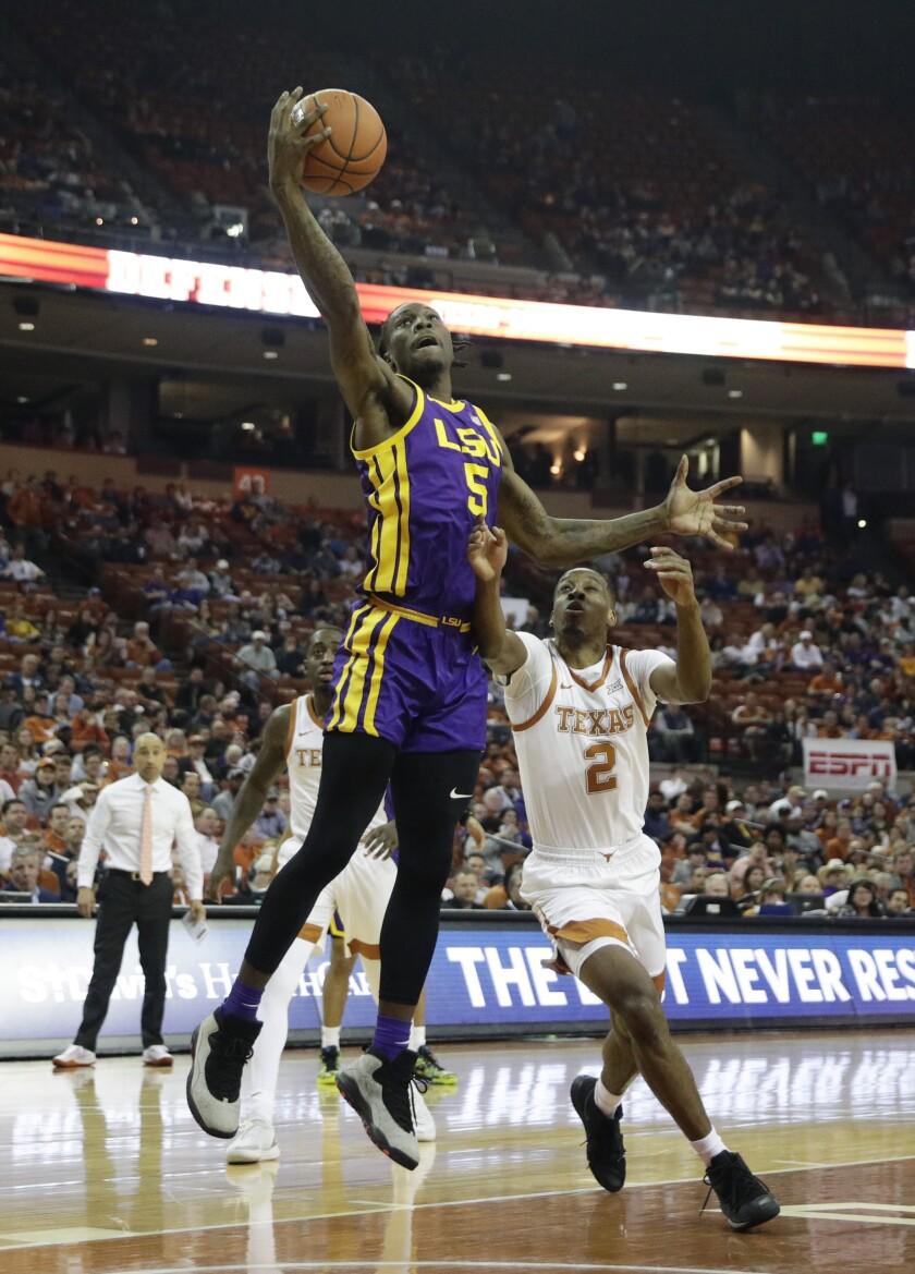 LSU Texas Basketball