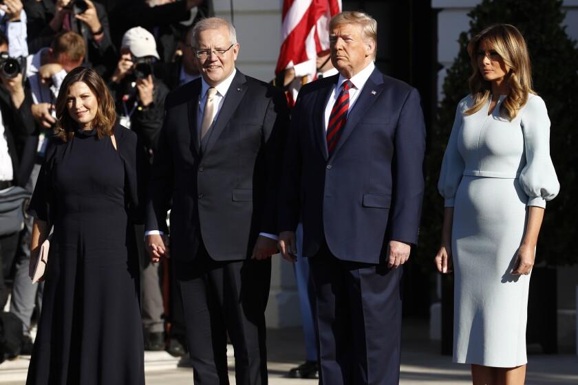 Trump US Australia State Visit