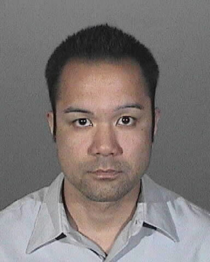 Carl Astrera is accused of engaging in the inappropriate behavior with a student at a Valenica Christian school.