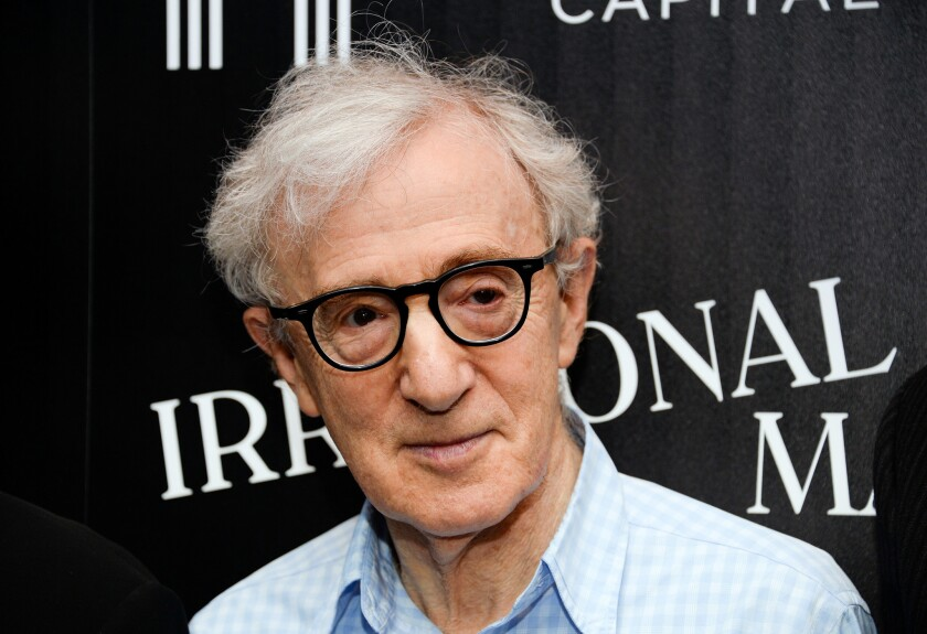 """Publishing staff walked out Thursday to protest Woody Allen's forthcoming memoir, """"Apropos of Nothing."""""""