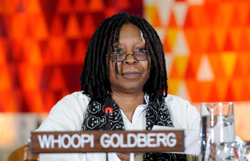 Fotografía de la actriz estadounidense Whoopi Goldberg. EFE/Archivo