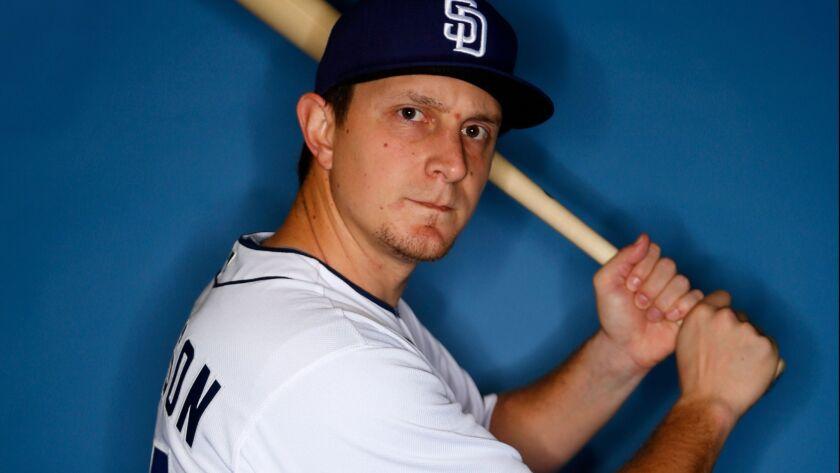 San Diego Padres outfielder Alex Dickerson. (Photo by K.C. Alfred/The San Diego Union-Tribune)
