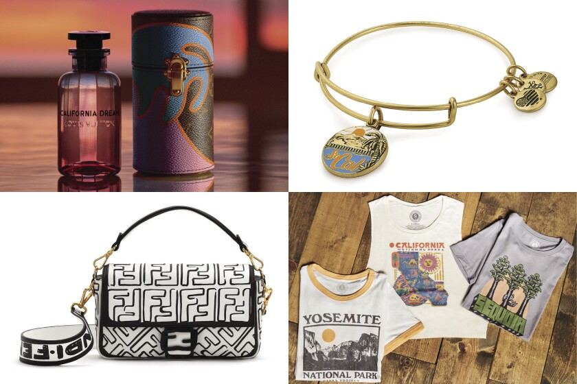 Fashion brands continue to show their love for California, including Louis Vuitton, Alex & Ani, Parks Project and Fendi.