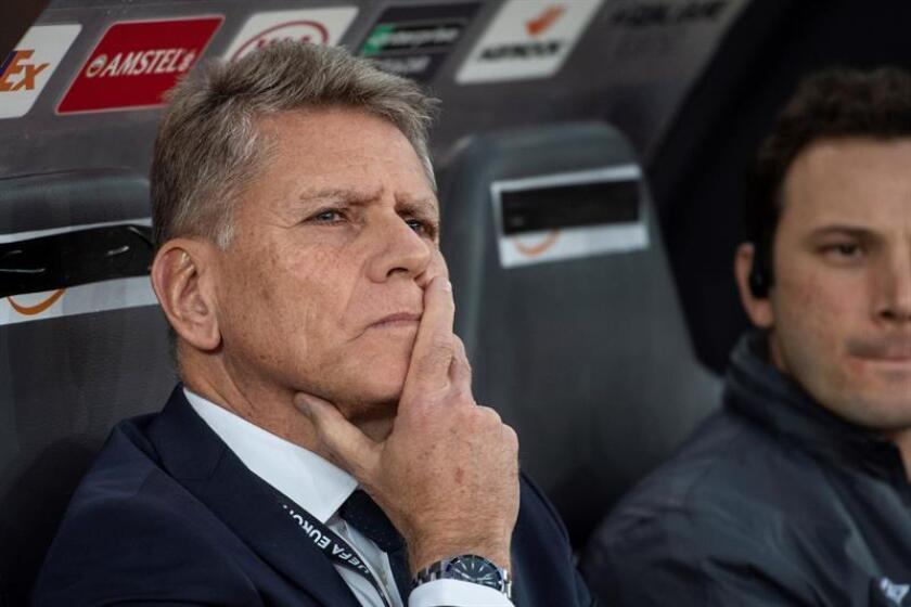Imagen de archivo de Paulo Mello Autuori entrenador del Atlético Nacional. EFE/Archivo