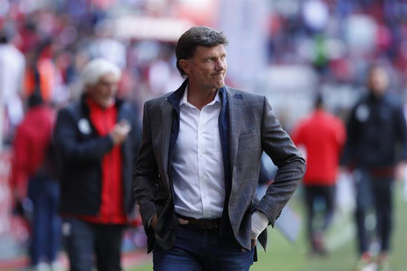Hernan Cristante, entrenador de Toluca. EFE/Archivo
