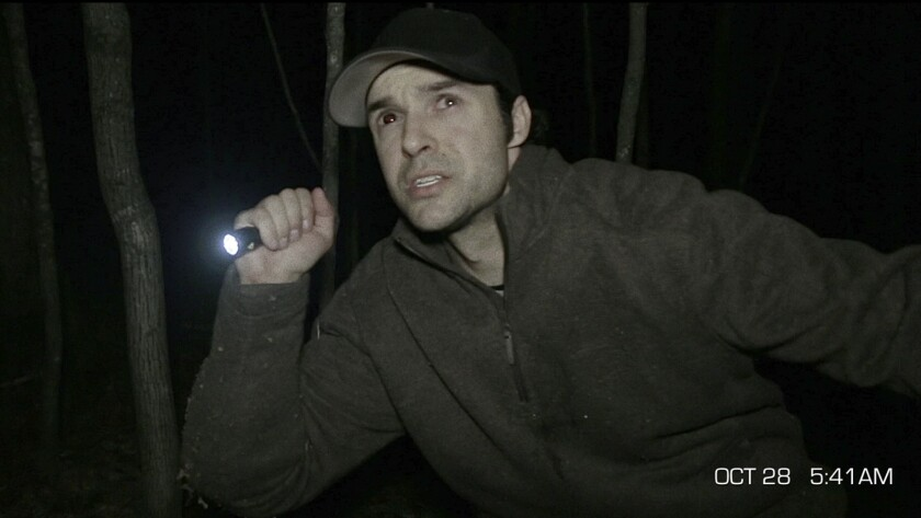 """Mathieu Ratthe in the film """"The Gracefield Incident."""""""