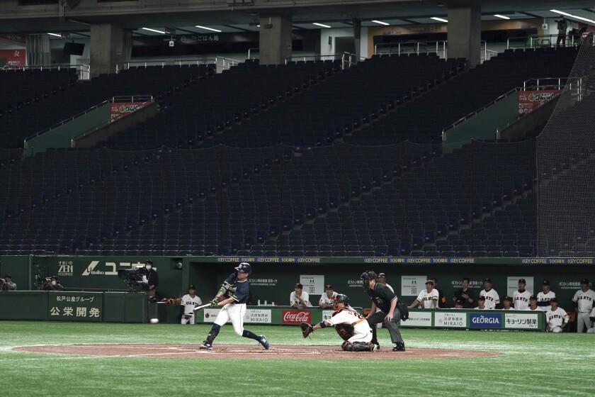 Japan Baseball Resumes Baseball