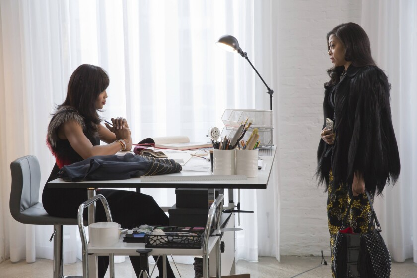 "Naomi Campbell, left, and Taraji P. Henson in ""Empire"" on Fox."