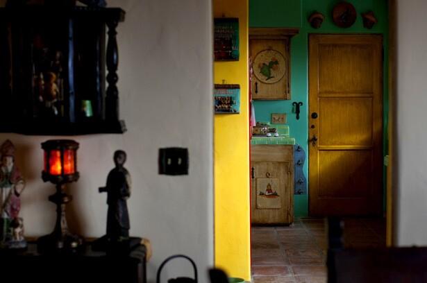 Mission meets flea market: A Laguna home's amusing mix