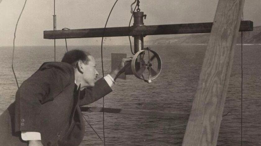 Visionary explorer-scientist Harald Sverdrup became director of Scripps in 1936.
