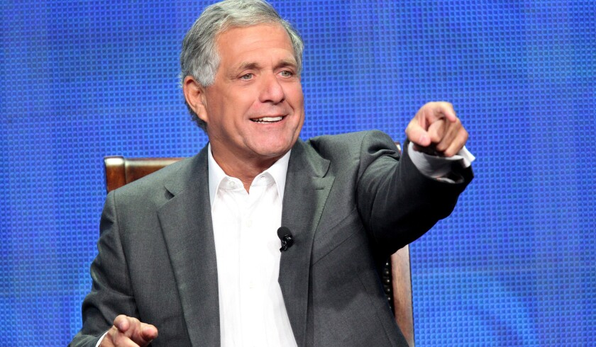 Leslie Moonves, president and chief executive of CBS, was instrumental in helping broker a fight between Floyd Mayweather Jr. and Manny Pacquiao.