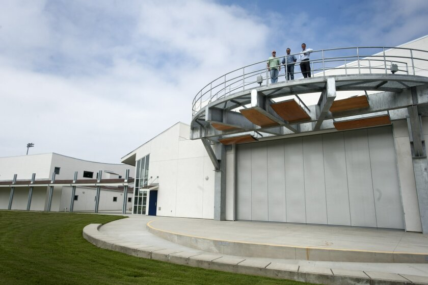 The Clayton E. Liggett Theater at San Dieguito Academy will be open to students for the first day of school and will host performances later this year.