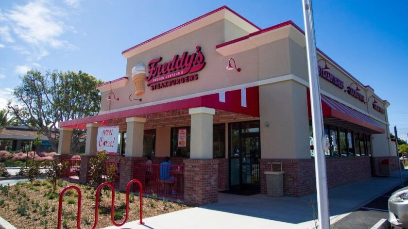 Freddy's Frozen Custard and Steakburgers opened Oct. 11 at 327 Mile of Cars Way.