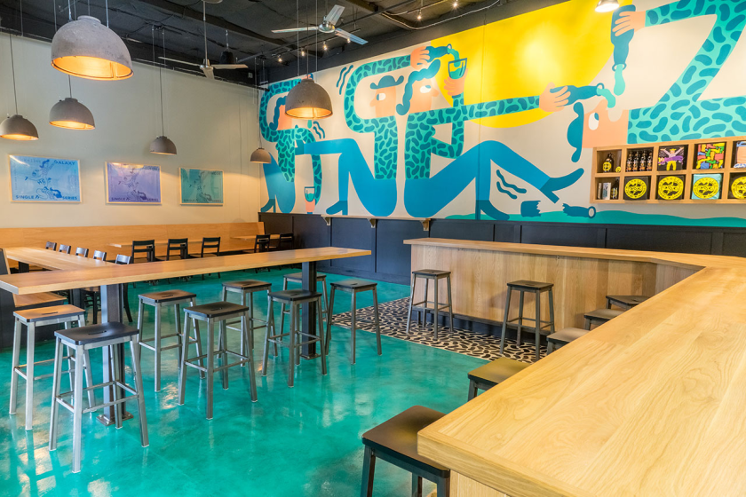 Vanilla Shake is on tap at Mikkeller San Diego's two locations in Miramar (pictured) and Little Italy.