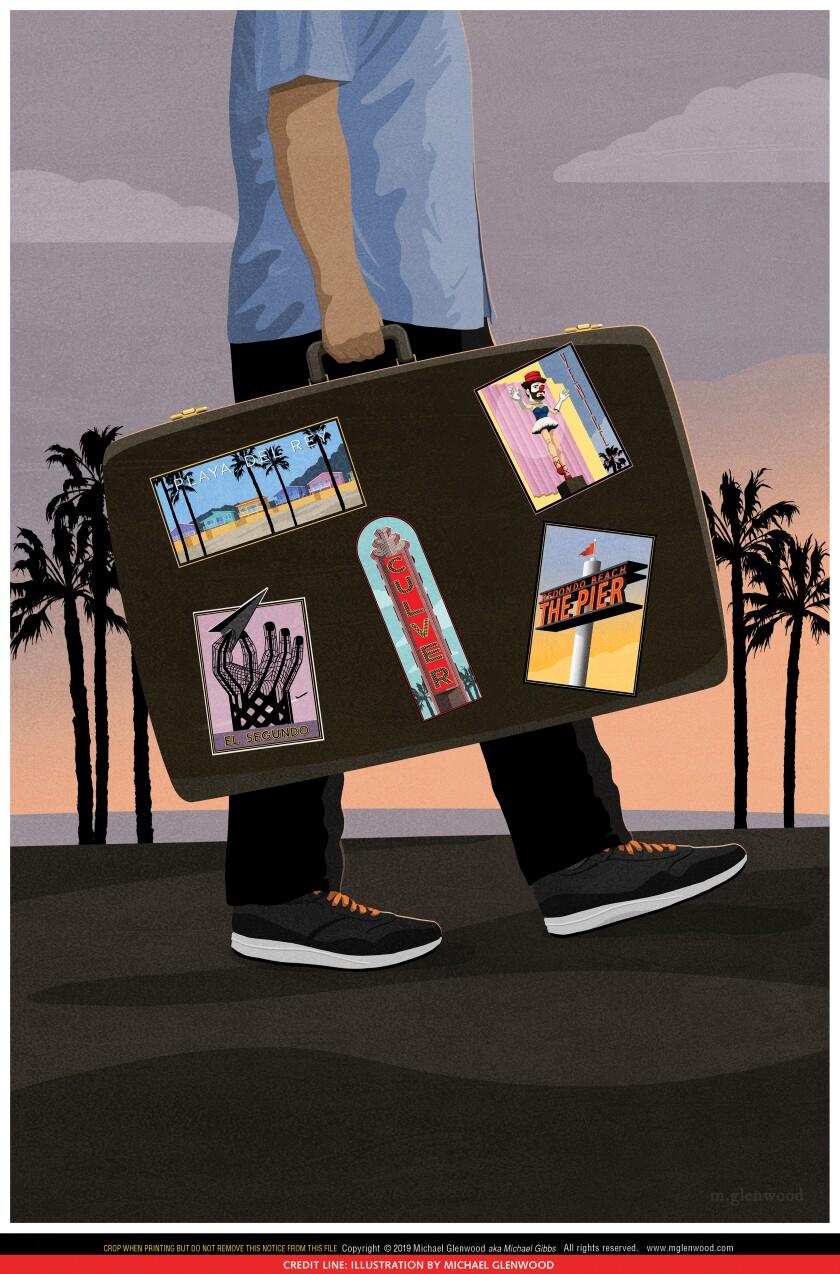 My one suitcase life