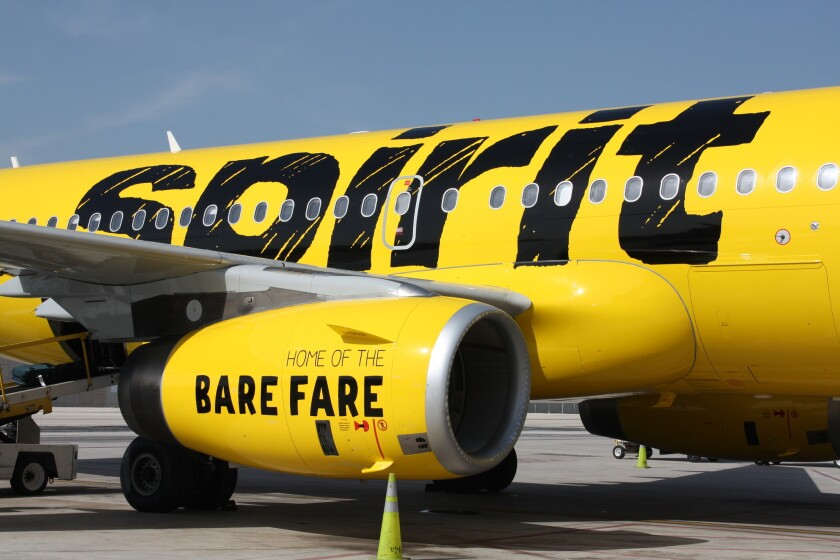 Florida-based Spirit Airlines has put a robot in charge of responding to questions from passengers on social media sites such as Twitter.