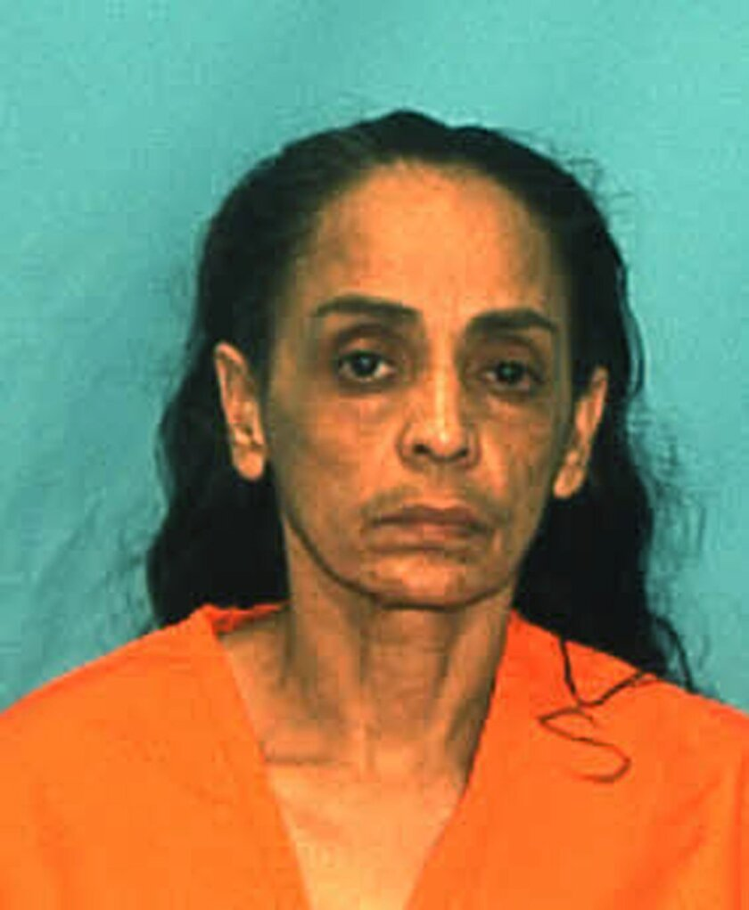 """In this undated arrest photo made available by the Florida Department of Law Enforcement shows Ana Maria Cardona. The murder conviction and death sentence imposed on Cardona for killing her young son known as """"Baby Lollipops"""" in 1990, have been thrown out by the state Supreme Court in Tallahassee,"""