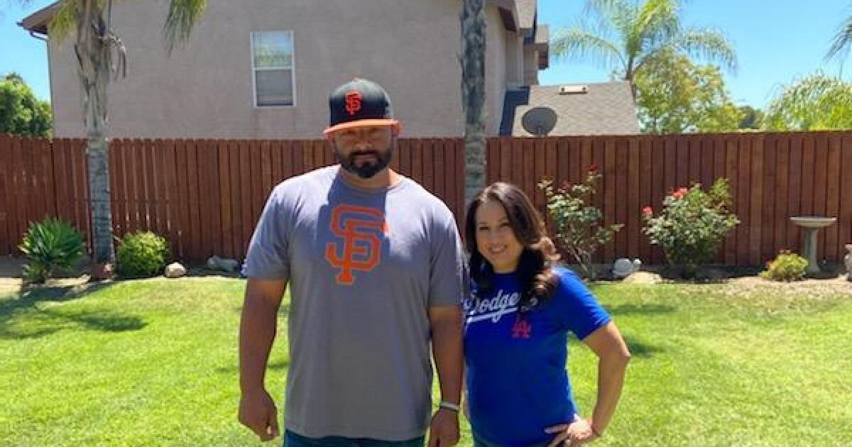 Dodgers vs. Giants is dividing this Sylmar coach's family - Los Angeles Times