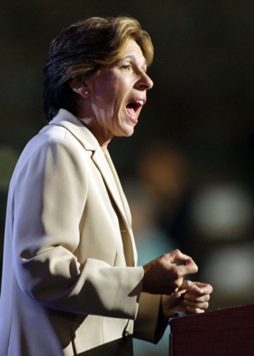 Randi Weingarten heads the American Federation of Teachers.