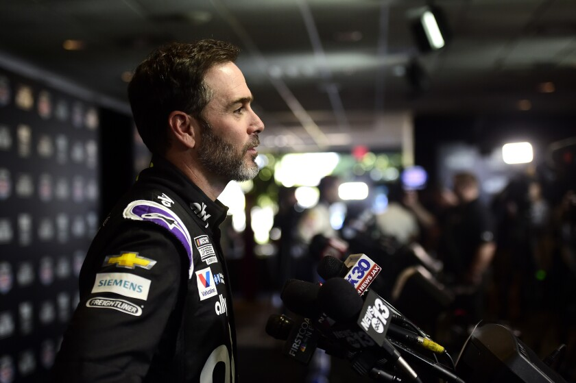 Seven-time NASCAR Cup champion Jimmie Johnson will make his final Daytona 500 start Sunday.