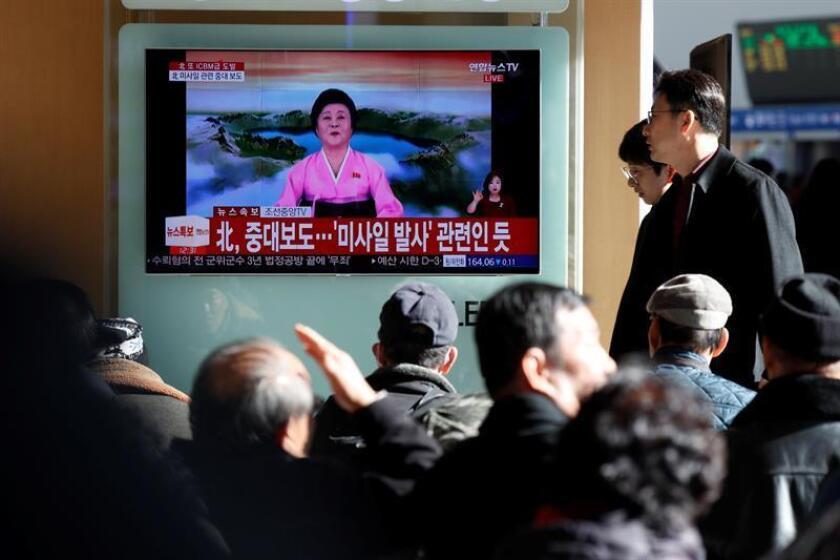 Los abusos de los derechos humanos continúan en Corea del Norte y están empeorando en medio de la crisis internacional que rodea al país, advirtió hoy Naciones Unidas. EFE/ARCHIVO