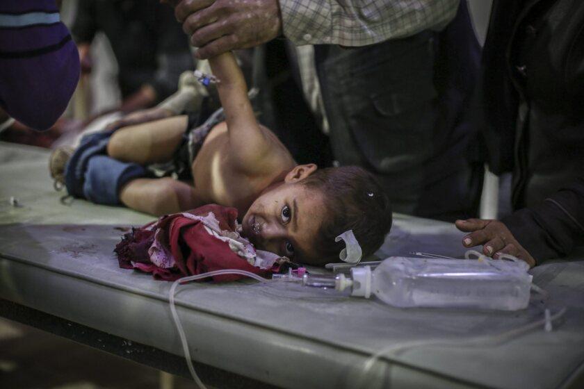 Arstrike on rebel-held city of Douma