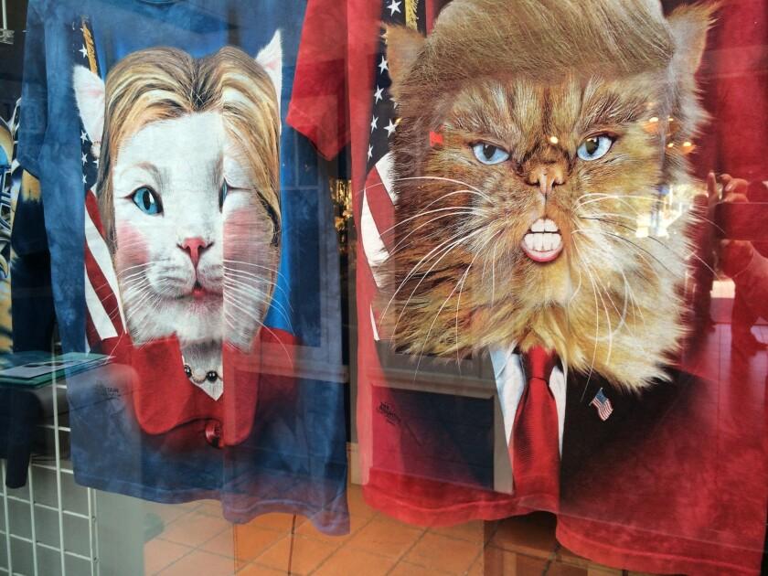 Mientras los negocios toman provecho de las elecciones, los activistas hacen lo posible para que Trump no se convierta en presidente.