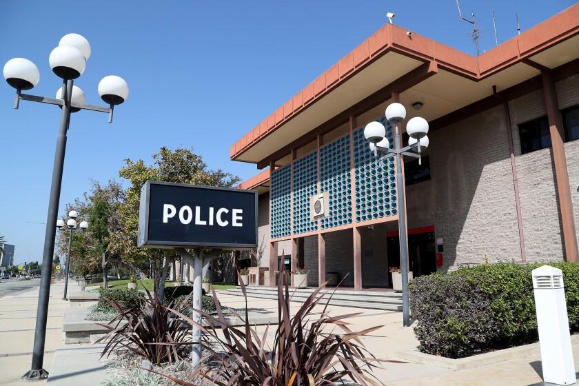 The Garden Grove Police Department headquarters.