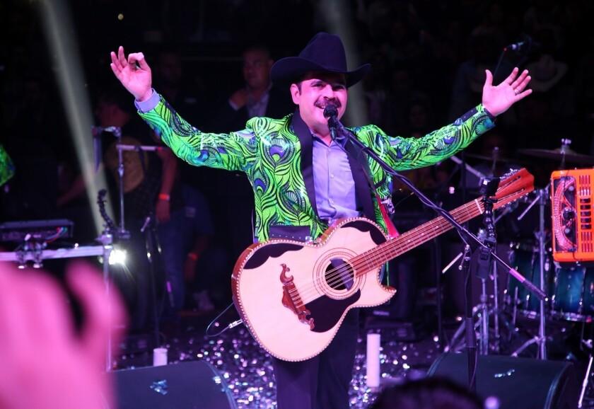 """Antes de su debut en Coachella, Los Tucanes de Tijuana serán uno de los actos principales del festival """"La Caravana del amor""""."""