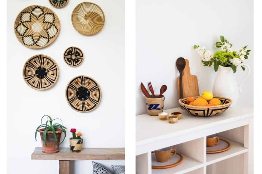 Local + Lejos offers handcrafted home goods from around the globe at