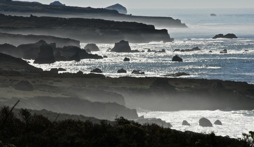Painterly views exist everywhere, everyday along the 90-mile-long Big Sur coastline.