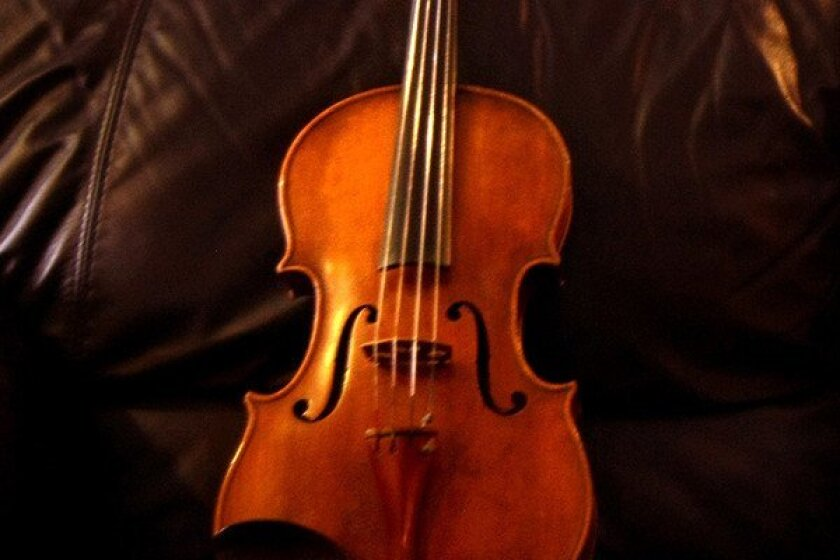 """The viola in """"Naturale"""" conveys the soul of Sicilian song."""