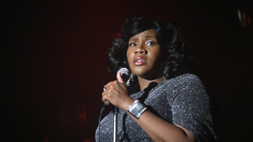 "Kelly Price in the season premiere of the musical series BET's ""American Soul."""